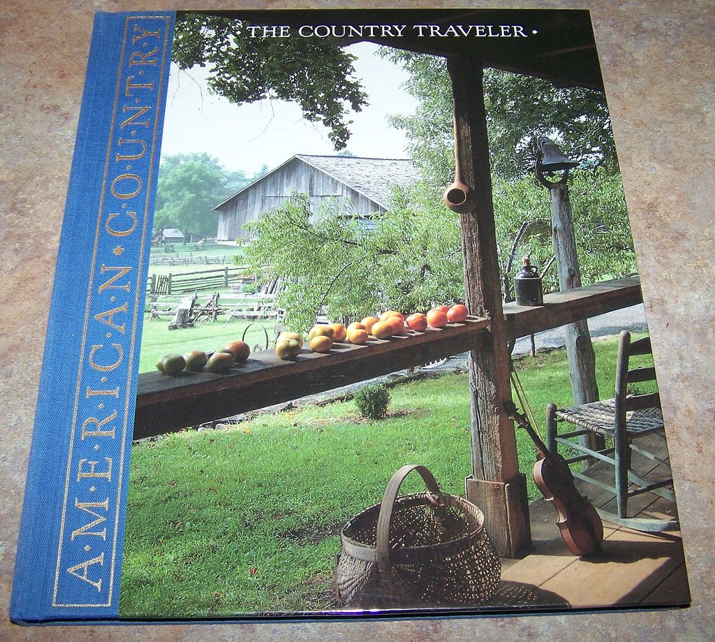 "H.C. Book American Country "" The Country Traveler"""