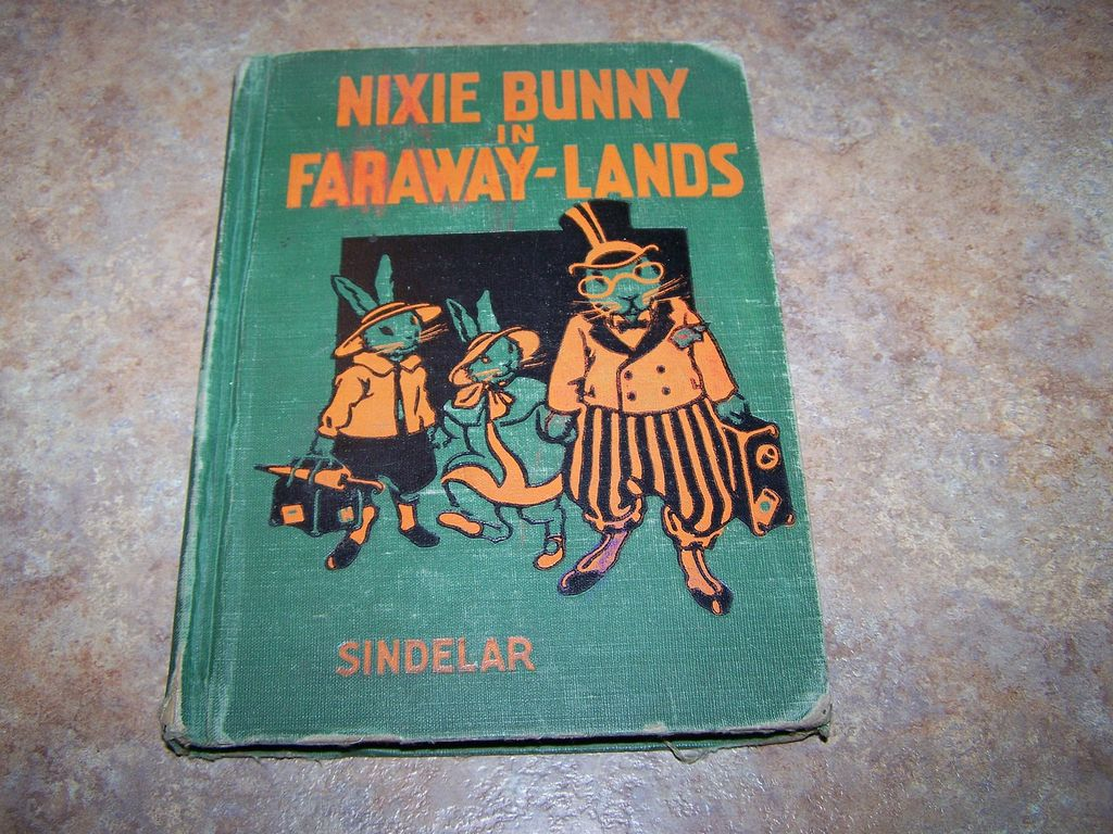 Nixie Bunny In FarAway - Lands Sindelar C.  1917