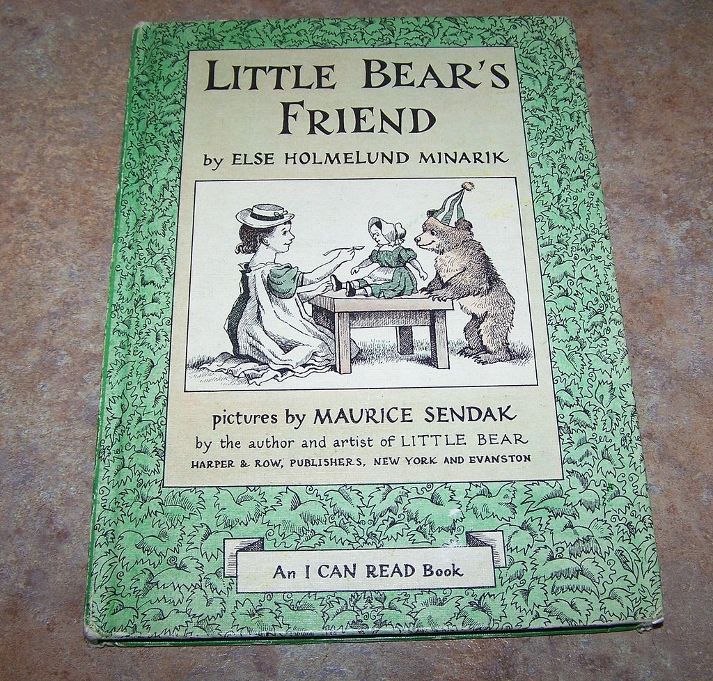 H.C. Book Little Bear's Friend  by Else Holmelund C. 1960