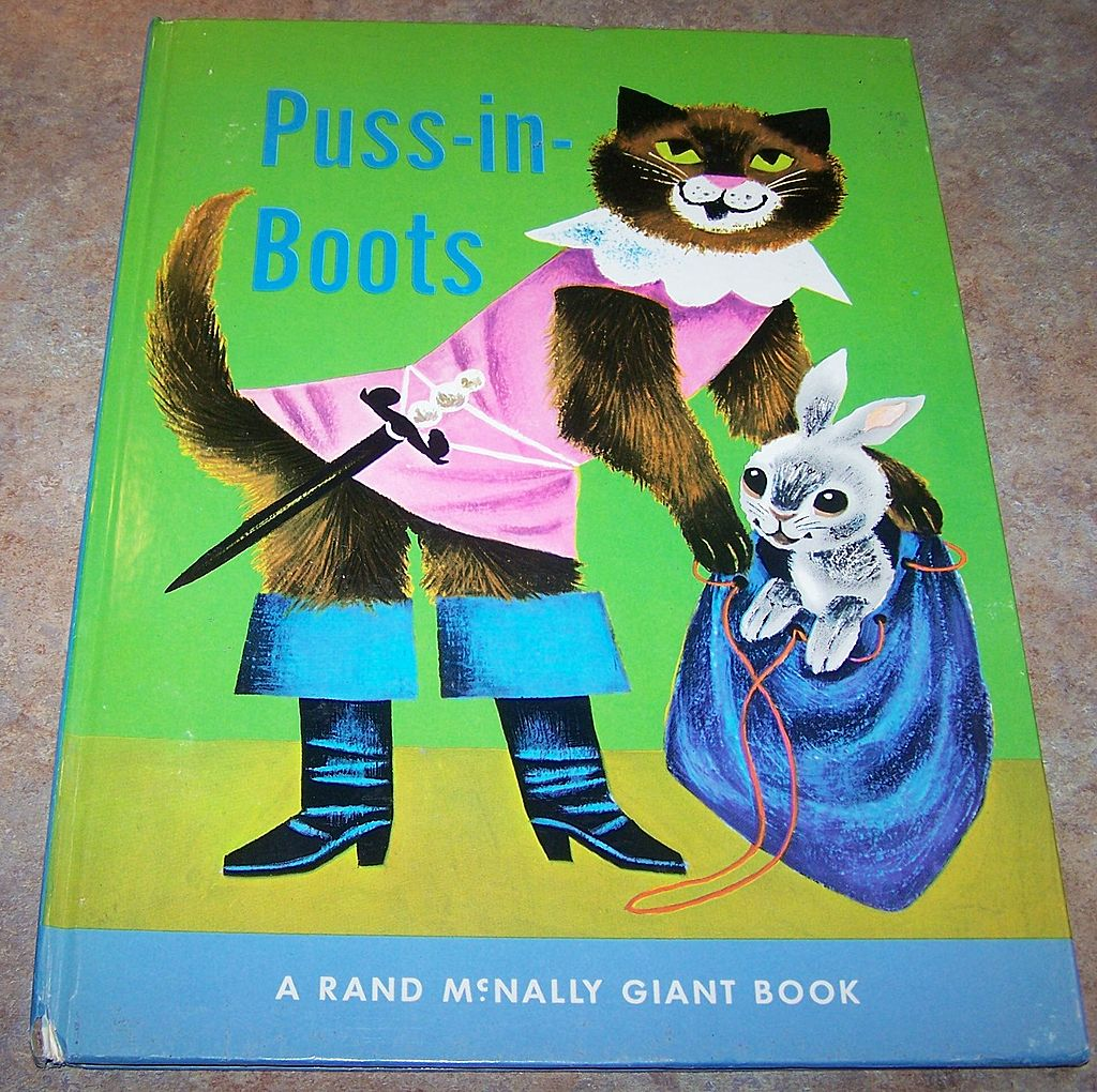 Rand McNally Giant Book Puss-In-Boots from victoriasjems