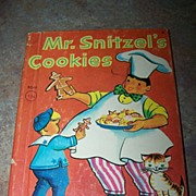 Mr. Snitzel's Cookies Rand Mcnally Junior Elf Book