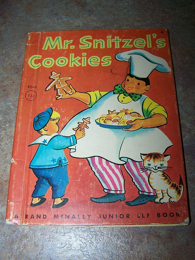 Mr. Snitzel's Cookies Rand Mcnally Junior Elf Book