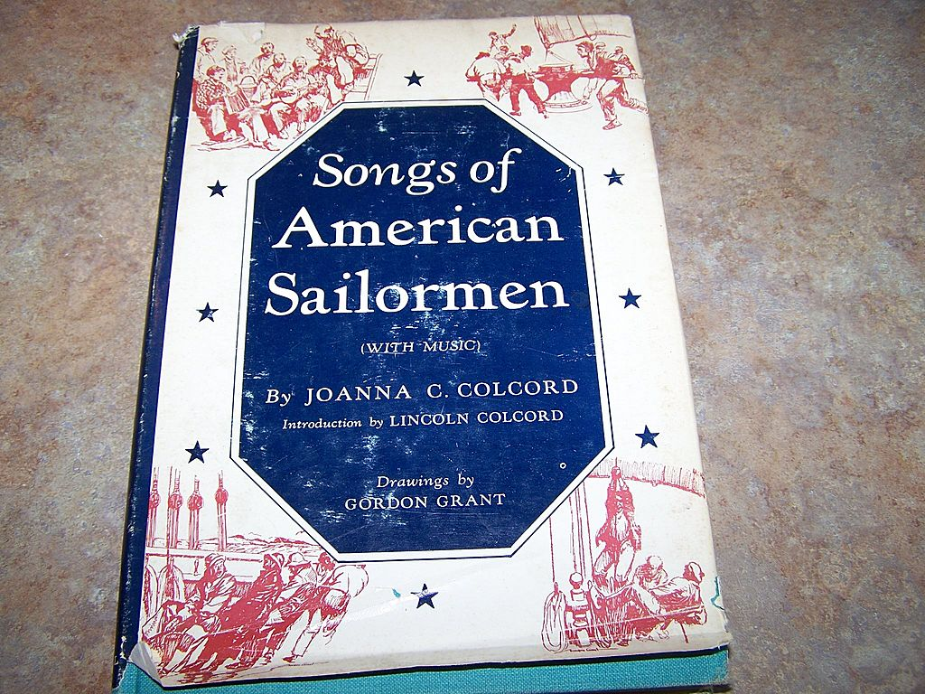 Songs of American Sailormen with Music H.C. Book