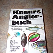 H.C. Vintage Book Knaurs Angler buch C. 1971 Fishing Sport