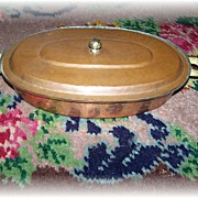 Vintage Copper Chafing Pan