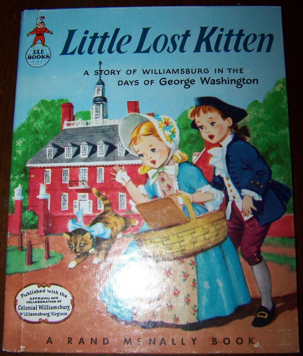 Little Lost Kitten Children's Book C. MCMLVI