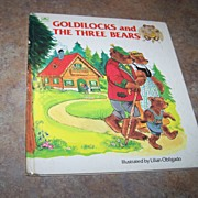Goldilocks and The Three Bears Golden Press C. 1980