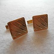 Art Deco 14K Cufflinks 13.9 grams