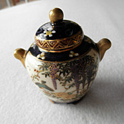 Japanese Satsuma Potpourri or Incense Jar