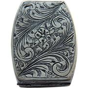 Continental 800 Silver Snuff or Pill Box
