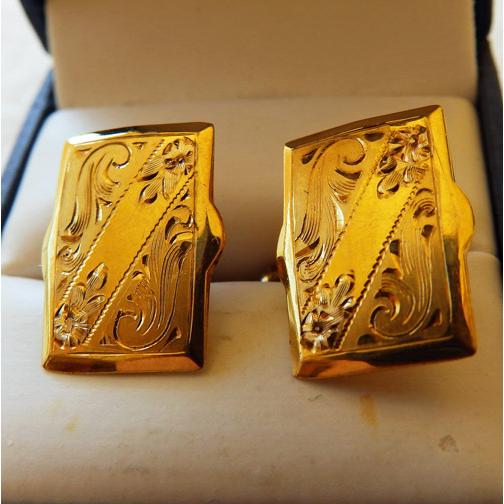 Victorian Gold Filled Cufflinks