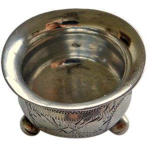Russian Silver Salt Moscow 1889