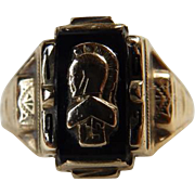 10K & Onyx 1962 Graduation Ring