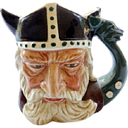 Royal Doulton Toby Mug The Viking   3 1/2""