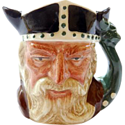 Royal Doulton Toby Mug The Viking   2 1/16""