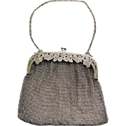 Victorian / Edwardian 800 Silver Mesh Purse