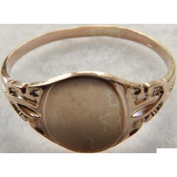 Art Deco 10K Signet Ring