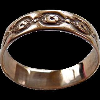 Victorian 10K YG Wedding Band Style Ring