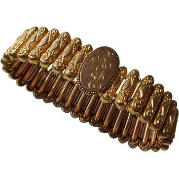 Victorian GF Stretch Bracelet