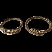Matched Pair Victorian GF Wedding Bracelets