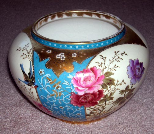 Stunning Large Royal Bonn Aesthetic Period  Hand Painted Vase 22k