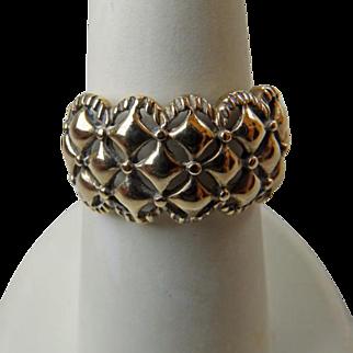 Vintage 10K YG Band Style Ring