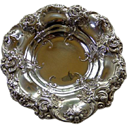 Gorham Sterling Art Nouveau Small Repousse Bowl Circa 1900