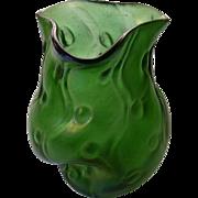 """Loetz Rusticana Iridescent Vase 4 1/2"""""""