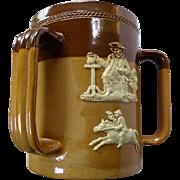 Doulton Lambeth Three Handled Loving Cup