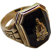 10K 1941 Central High School Detroit Class Ring