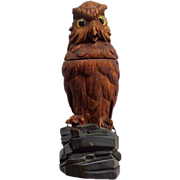 Black Forest Owl Inkwell