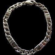 Vintage Tiffany Sterling Chain Link Bracelet