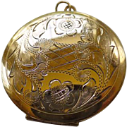 Vintage Winard GF Double Sided Locket