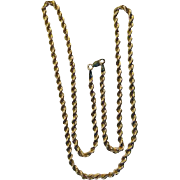 10 Karat Twisted Rope Chain 4.2 Grams