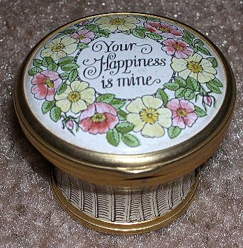 Cartier Bilston & Battersea Enamel Box  Mother's Day 1976