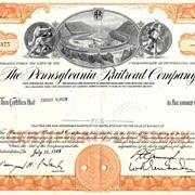 MONOPOLY Game Railroad Stock Certificates