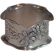 Sterling Silver Napkin Ring , Circa 1900 ,...... Mathilda