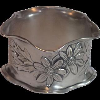 Sterling Silver Napkin Ring , Circa 1900 ,...... Mathilda