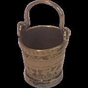 Victorian 14K Bucket Charm