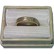 Antique Baby Ring In 14K Yellow Gold