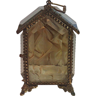 Antique French Jewel / Relic Casket