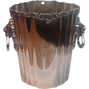 Victorian Silverplate Champagne Bucket