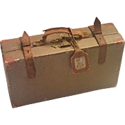 Vintage Suitcase ( Candy Container ) For Dolly's Travels