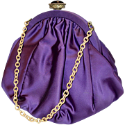 Silk Evening  Purse , C. 1960