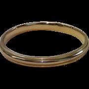 Antique Slave Bracelet , 9 CT. Yellow Gold