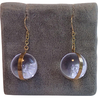Pools Of Light Earrings In 9 CT Gold
