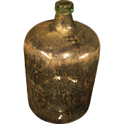 Antique Newman's Improved Boxed Demijohn Bottle