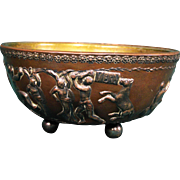 Rare E. F. Caldwell Classical Revival Ornamented Bowl