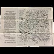 Boise National Forest Idaho Map 1935