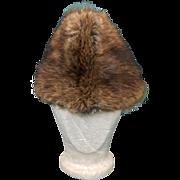 Vintage Men's Beaver Fur Hat Canada